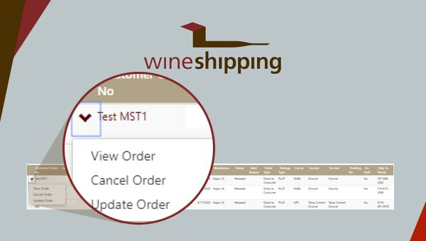 Wineshipping Announces New Portal Features